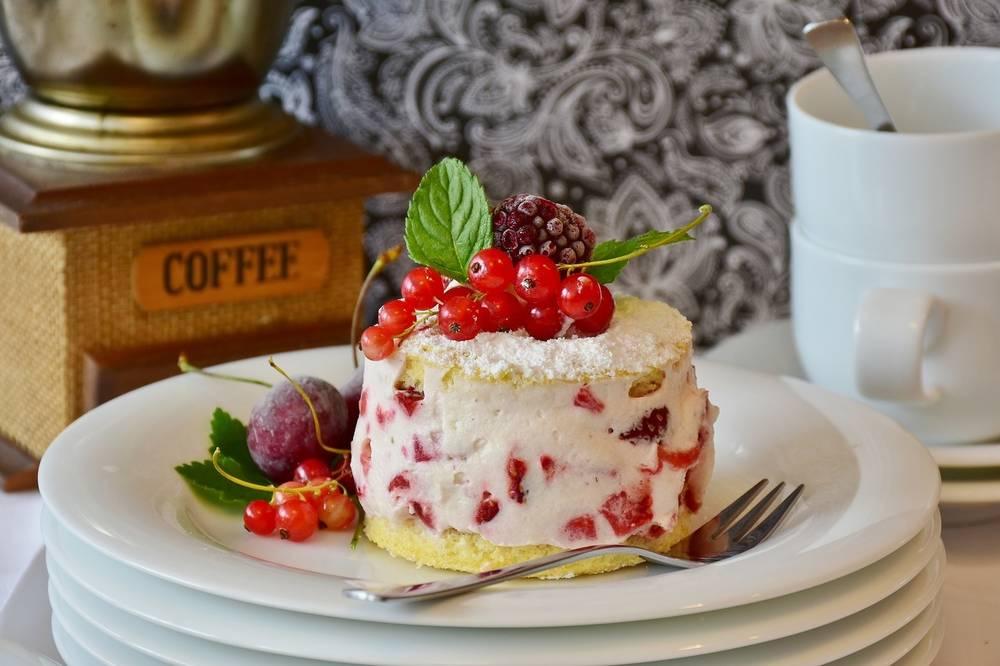 Низкокалорийный творожный торт