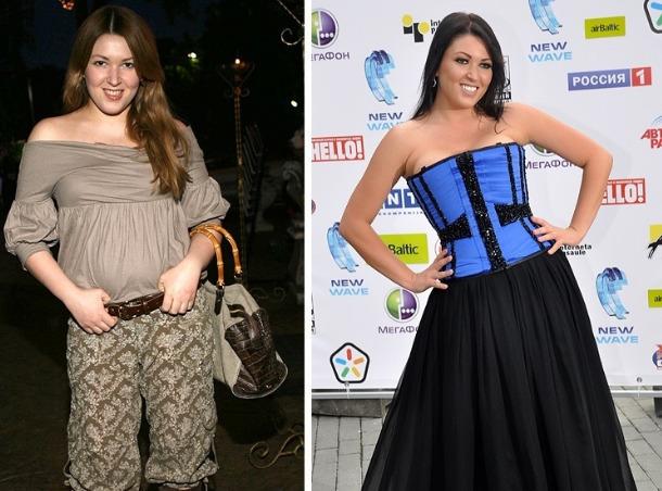 Как похудела Ирина Дубцова - диета, фото до и после